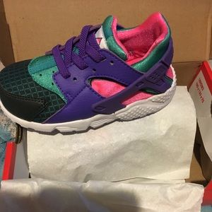 "Toddlers' Nike Huarache Run Now Sneakers ""NEW"""